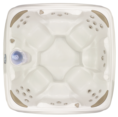 Dream Maker Crossover 700S Top Down Sterling White Hot Tub