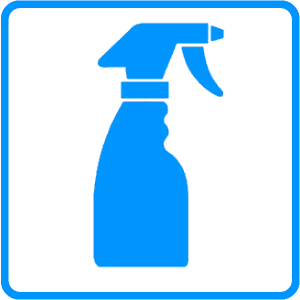Spray Bottle Cleaning Solution